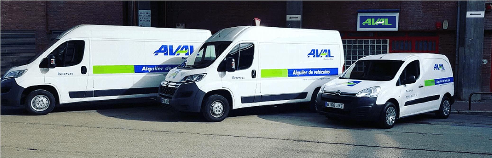 alquiler de furgonetas en Madrid Aval Rent a Car
