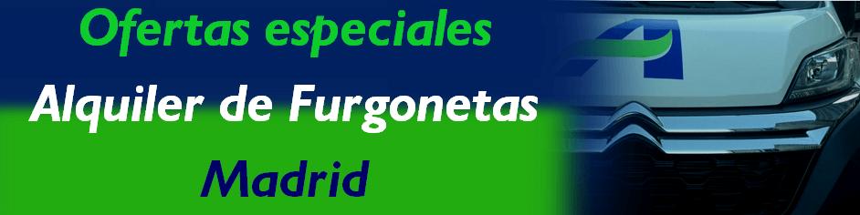 Oferta Especial Alquiler de Furgonetas MADRID - Aval Rent ... - photo#31
