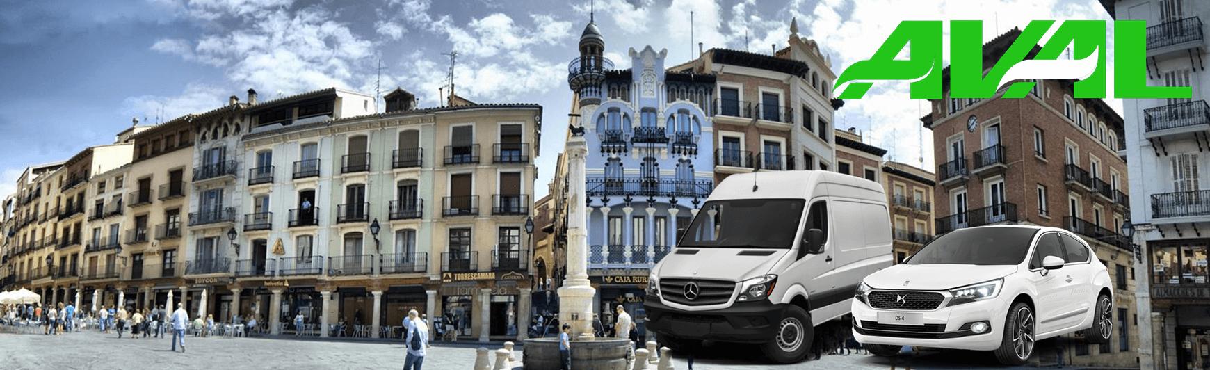 alquiler coches furgonetas teruel