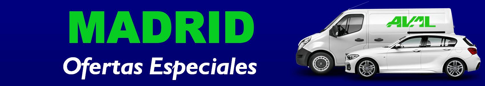 ALQUILER COCHES FURGONETAS MADRID